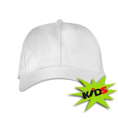 Цвет Белый, Детские кепки - PrintSalon
