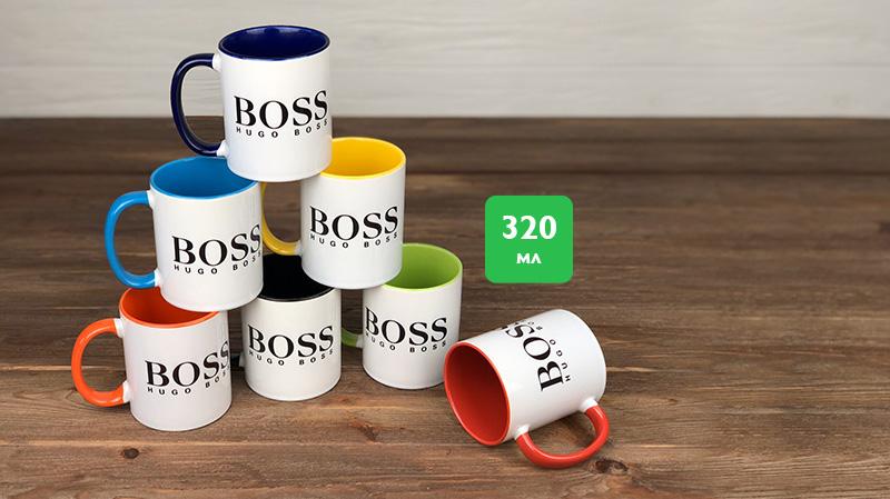 Чашки двухцветные 320ml