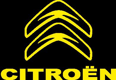 Принт Наклейка Логотип Citroen - PrintSalon