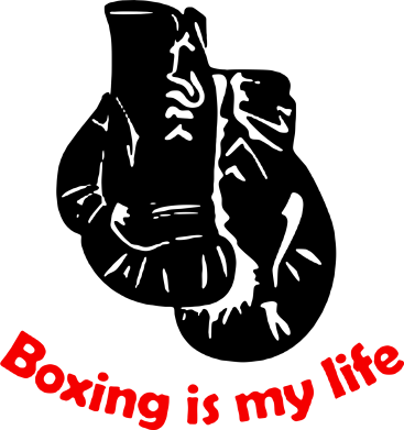 Принт Чашка 320ml Boxing is my life, Фото № 1 - PrintSalon