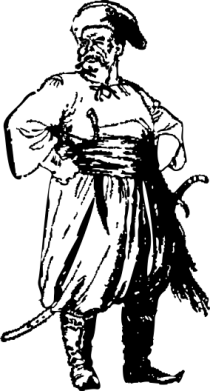Принт Мужское поло Руки в боки, Фото № 1 - PrintSalon