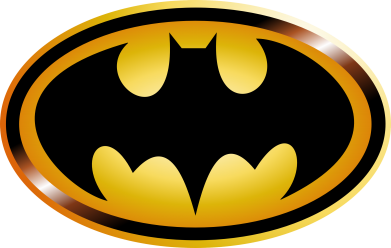 Принт Снепбек Batman logo Gold - PrintSalon