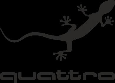 Принт Наклейка Quattro - PrintSalon