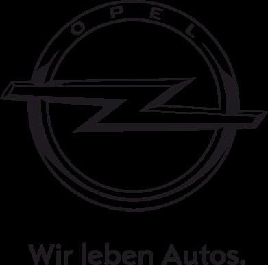 Принт Футболка з довгим рукавом Opel Wir leben Autos, Фото № 1 - PrintSalon