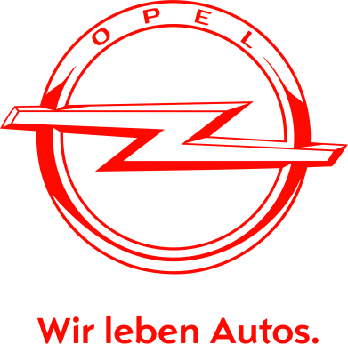 Принт Подушка Opel Wir leben Autos, Фото № 1 - PrintSalon