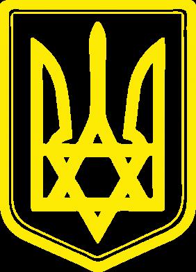 Принт Чоловіча футболка Зірка Давида+герб, Фото № 1 - PrintSalon