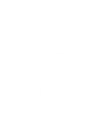 Принт Толстовка Winter is coming (Игра престолов) - PrintSalon