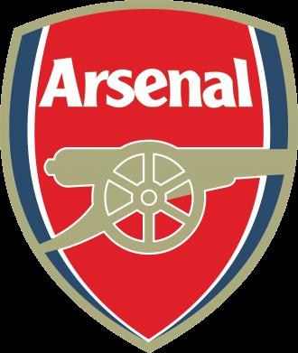 Принт Мужская толстовка на молнии Arsenal - PrintSalon