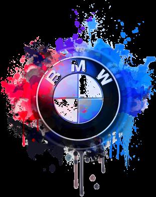 Принт Дитячий бодік BMW logo art 2, Фото № 1 - PrintSalon