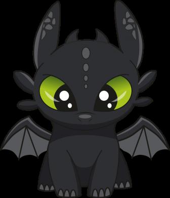 Принт Килимок для миші Cartoon cute dragon, Фото № 1 - PrintSalon
