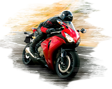 Принт Чашка 320ml Honda moto art, Фото № 1 - PrintSalon