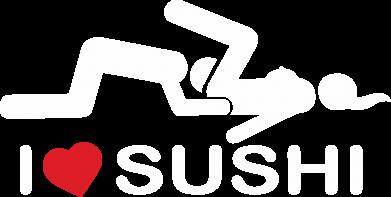 Принт Чоловіча футболка з V-подібним вирізом I love sushi, Фото № 1 - PrintSalon