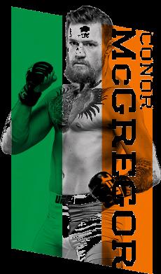 Принт Мужская футболка Conor UFC, Фото № 1 - PrintSalon