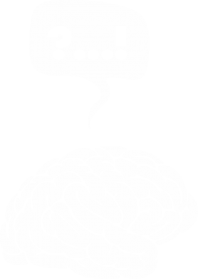 Принт Мужское худи на молнии Мозг, Фото № 1 - PrintSalon