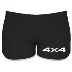 Женские шорты 4x4 - PrintSalon