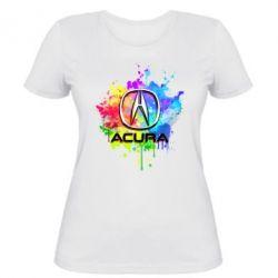 Женская футболка Acura Art