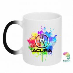 Кружка-хамелеон Acura Art