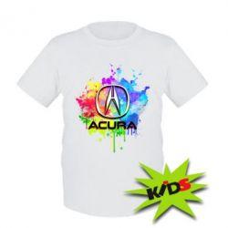 Детская футболка Acura Art