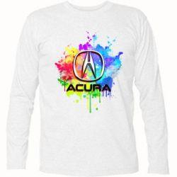 Футболка с длинным рукавом Acura Art