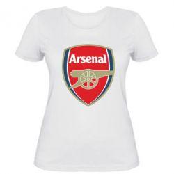 Женская футболка Arsenal - PrintSalon