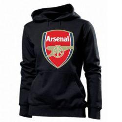 Женская толстовка Arsenal - PrintSalon