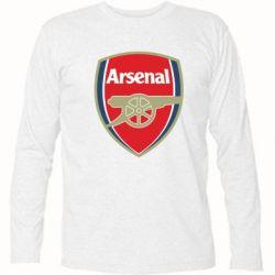 Футболка с длинным рукавом Arsenal - PrintSalon