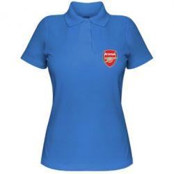 Женская футболка поло Arsenal - PrintSalon