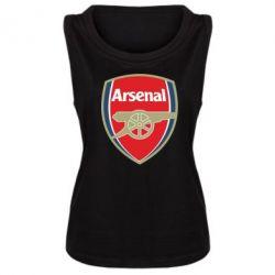 Женская майка Arsenal - PrintSalon