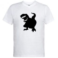 Мужская футболка  с V-образным вырезом Atilla han - PrintSalon