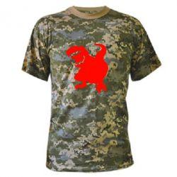 Камуфляжная футболка Atilla han - PrintSalon