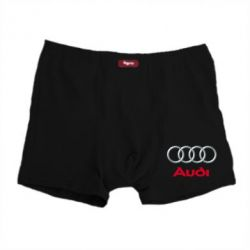 Мужские трусы Audi 3D Logo