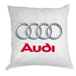 Подушка Audi 3D Logo