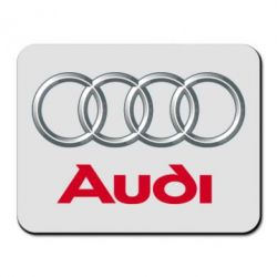 Коврик для мыши Audi 3D Logo