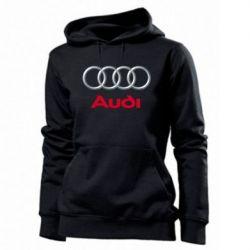 Женская толстовка Audi 3D Logo