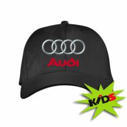 Детская кепка Audi 3D Logo