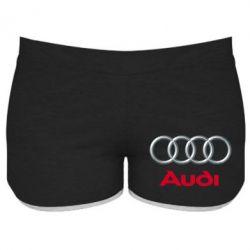 Женские шорты Audi 3D Logo