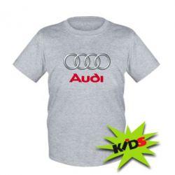 Детская футболка Audi 3D Logo