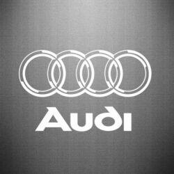 Наклейка Audi Big