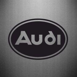 Наклейка Audi лого