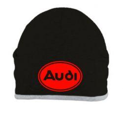 Шапка Audi лого