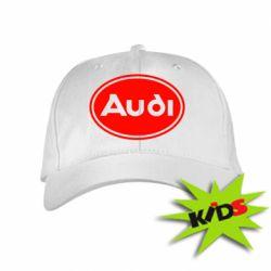 Детская кепка Audi лого