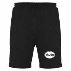 Мужские шорты Audi лого