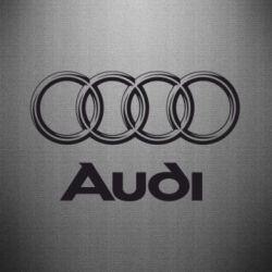 Наклейка Audi Small