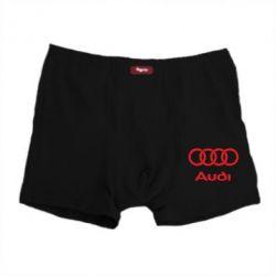 Мужские трусы Audi - PrintSalon