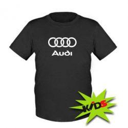 Детская футболка Audi - PrintSalon