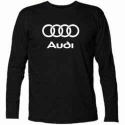 Футболка с длинным рукавом Audi - PrintSalon