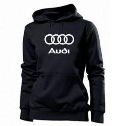 Женская толстовка Audi - PrintSalon