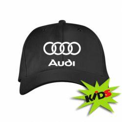 Детская кепка Audi - PrintSalon