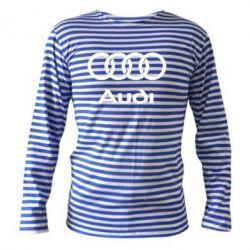 Тельняшка с длинным рукавом Audi - PrintSalon