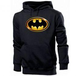Мужская толстовка Batman logo Gold - PrintSalon